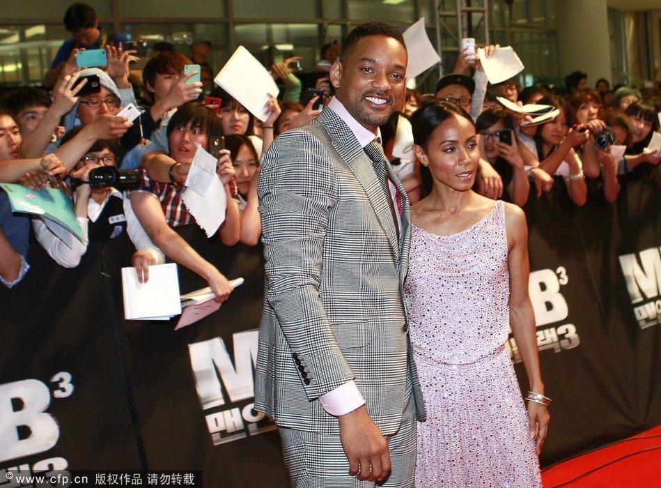 威尔-史密斯和妻子