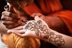 美丽神秘:印度姑娘出嫁前都会做的事