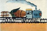 """需要用一节火车车皮运输的""""玉米棒""""。"""