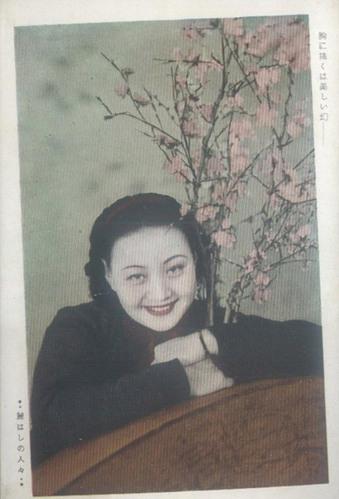 """明信片上的1930年代""""伪满""""美女"""
