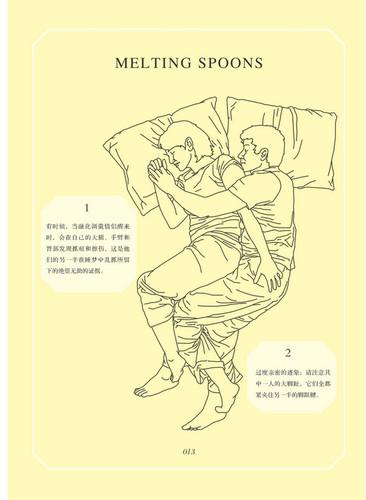 从情侣睡姿看两性关系[组图]