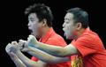 乒球男团半决赛 中国3-1德国