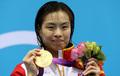 女子3米板 吴敏霞夺冠何姿摘银
