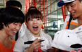 中国奥运举重队回国