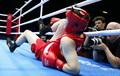 女拳75公斤级 李金子两度被击倒无缘决赛