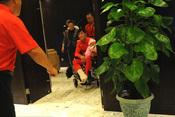 刘翔回到上海