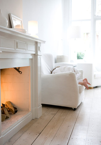 白墙木地板打造荷兰小清新宜家风格家居环境