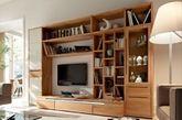 总部位于德国的Hülsta家具的现代传媒部门由大师级工匠创立,从精细光线到暗色木材。他们的设计本身趋于简约造型。他们多采用平滑前面板,简洁线条和无数多单元分组进行构造。(实习编辑何丽晴)