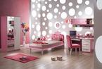 童话般的粉色卧室设计 让自家小公主美梦成真