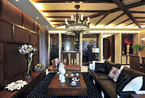 低调奢华的现代豪宅 让传统文化孕育出时尚韵味
