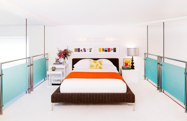 戏剧元素搭配出趣味空间 芝加哥设计师的色彩创意