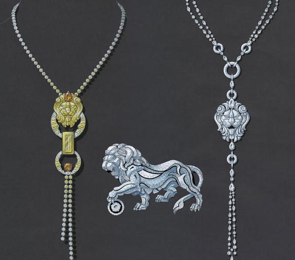 造型——珠宝首饰设计中凝固的美