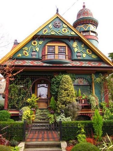 现实世界里的童话城堡 如梦如幻恰是我儿时的梦想