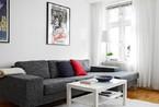 灰色系地板情系灰白北欧公寓 低调颜色衬托高贵气质
