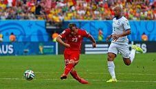 E组-瑞士3-0洪都拉斯