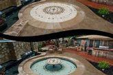 这个高大上的泳池是由 Hidden Water Pools(美国加州的泳池建造公司)建造的。露台由按钮操控,不管是从露台表面光洁度、特殊照明效果还是喷泉,都有能够满足不同人的心理愿景和价格预算的选择。(实习编辑:辛莉惠)