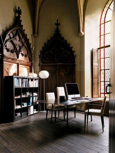 家居设计 欧洲中世纪哥特风格家庭装修鉴赏图片