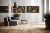 Bolefloor木地板硬木地板回归自然。天然木材不是直的,而是弯曲的,但由于技术有限,硬木地板是没有这种自然曲线的。(实习编辑:石君兰)