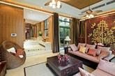 东南亚地处热带,岛屿众多,风格上也杂糅了不同地方的不同风情,几乎囊括了东南亚11个国家的所有特色,形成了自成一家的东南亚风格。东南亚风格也非常适合用于别墅设计,回归自然色彩,令家居环境更舒适。(实习编辑:温存)