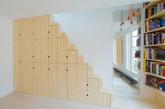 来自法国的建筑公司 schemaa 收到了一个挑战,他们得将小空间放大再放大 ( 当然只是视觉上的效果 ) 于是他选用了不同高度的木板柜打造出一个可以置物的楼梯牆。schemaa 有著一颗热于实验的心去创造更多的设计可能,除了实验心更强调著成品的功能性,于是他们接下了这件有趣的案子。(实习编辑:石君兰)