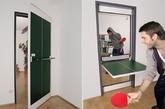 趣味乒乓球门(实习编辑:温存)