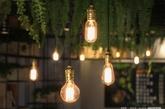 灯被悬挂在网格状的天花板上(实习编辑:温存)