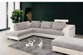 雅致的白色布艺沙发,点缀上深浅层次的银灰色抱枕,纯净中不失高雅。这种巧妙的素色搭配,赶走了都市中的烦嚣,取而代之的是一股难得的清新之风。(实习编辑:辛莉惠)