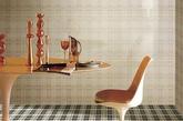 新式瓷砖。经典的格子瓷砖,创造出空间视觉的新高潮。将对家居质感的追求渗透到每一个角落,新式样瓷砖也是点亮空间的一大法宝。