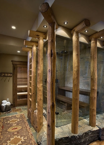 10款木系小清新自然卫浴  回归森林隐秘生活