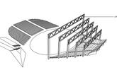 维尔扬迪节日剧院旨在创造一个开放式的、自由的、且带有欢聚性的空间,使得观众跟演员有更亲密的接触。设计灵感来源于设计师对纯净声音的向往。演奏台内里顶板也采用紧密的铰链式结构,以达到消除电子乐音散扩的效果。考虑到舞台坐落于保护区的一个旧庄园公园内,这个附属建筑也被设计得和周围的景色融于一体。(实习编辑:陈尚琪)