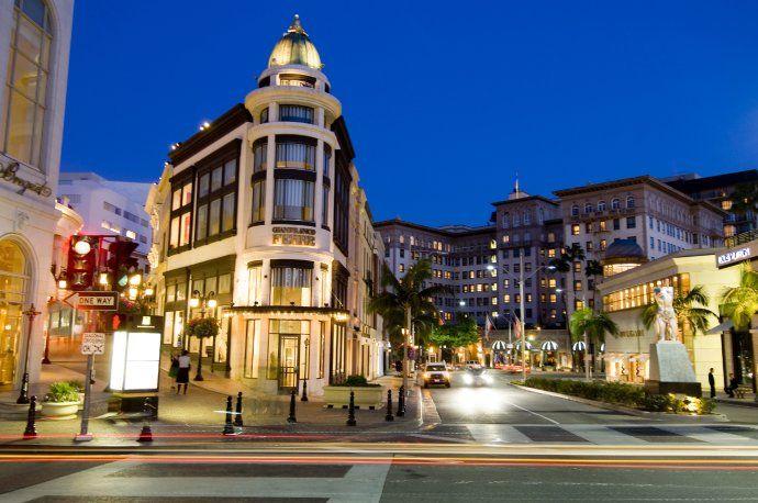 比弗利山庄 美国最奢华的购物地