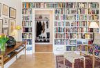 时尚文青气息 精致书墙装饰北欧风公寓