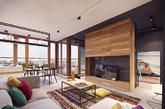 这座公寓位于波兰华沙,由PLASTERLINA公司设计,虽然目前欣赏到的只是效果图,但是丝毫不妨碍对这个空间的欣赏。以白色为底,用木质与黑色铁件带来坚硬简约的质感,为了不让空间显得过于清冷,设计师加入了彩色的地毯和靠垫,轻轻松松将温暖活泼的氛围切入!(实习编辑:周芝)