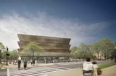 史密森尼非裔美国人历史和文化博物馆,华盛顿 该博物馆是美国史密森尼学会待建的最新博物馆。馆址选定在华盛顿国家广场中。(实习编辑:周芝)