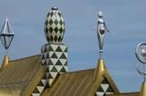 埃塞克斯之屋是由艺术家格雷森·佩里与建筑公司FAT合作建造。(实习编辑:周芝)