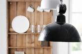 大灯小灯,黑白相应。大花瓶,小花瓶,质朴厚重和透明轻盈。生活就此刻(实习编辑 孟璇)