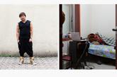 石华鑫,26岁,漂亮发型沙龙。石华鑫是藏族人,家乡在康定。