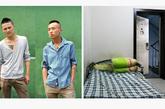 陆超,20岁,陈一,21岁,如意美发店。两人在老板房间的门厅里支了一张床,睡在一起。这个屋子虽然特别大,但是每一个房间都被分租给不同的人。