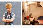 毛洋,19岁,浪漫空间沙龙。他和另一名室友租住在一个廉价旅馆的地下室里,这里没有窗户。