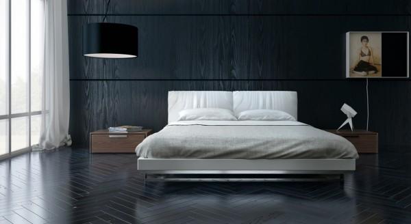 上班不要迟到了!住在这么安逸的卧室不要贪睡哦!