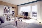 波兰小户型舒适简约公寓设计  让家更简单