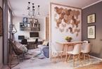 50平米给你一个齐整且时尚的完美之家
