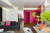 色彩的冲击给你足够的震撼力,色彩赋予家生机活力。色彩的碰撞:圣彼得堡Tuhachevsky街公寓设计,并没有使家显得杂乱,反而增添不少乐趣。每一处色彩仿佛恰到好处,让人彻底爱上色彩。(实习编辑:周芝)