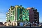 """疯狂的建筑    玻利维亚开始建""""宇宙飞船""""了!"""
