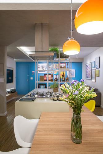两个人的世界  巴西利亚70平米简约温馨的公寓设计