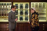电影《王牌特工》海报:电影里展示的衣柜绝对是绅士的标配,满足了所有男性对衣柜的幻想。男人都有绅士梦,先实现了这个衣柜梦吧。