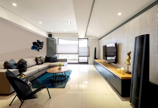 工业元素融合现代设计的简约公寓 你值得拥有
