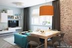 个性满分  一室一厅打造精致小空间