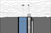"""提到""""悬崖边的豪宅"""",我们一般会想到建在悬崖边面朝大海的别墅,就像电影《钢铁侠》第一二部中的斯塔克的宅邸。今天要介绍的这个则更具想象力。在这个OPA工作室的概念性设计中,住宅被名副其实地凿在悬崖中,外立面以玻璃覆盖,犹如镶嵌在岩石中的钻石。(编译:凤凰家居小杨)"""