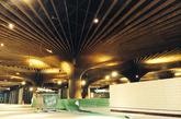 一个大型天窗在动线区域上方延展,线性灯光使建筑空间看上去更高敞(实习编辑:刘嘉炜)